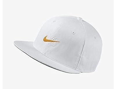 Nike Vintage Snapback Hat White/ Orange Mens One Size
