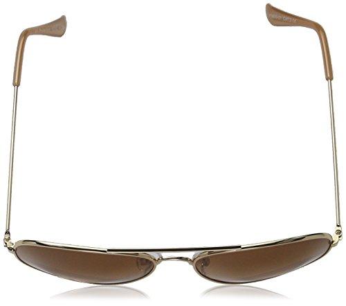 ... Vero Moda Vmlove Sunglasses Noos, Lunettes de Soleil Femme Multicolore  (Pale Gold AOP  cd8541c71252