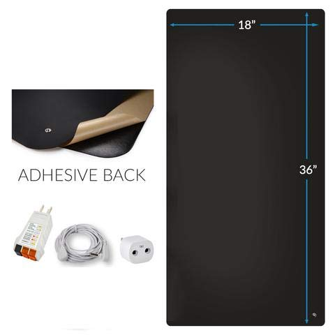 The Original Office Chair Grounding Mat Kit by Earthing to Improve Sleep, Inflammation, and Anxiety (Earthing Mat Computer Kit)