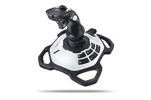 Logitech Extreme(TM) 3D Pro - Volante/mando (Palanca de mando, Mac, PC, 64 MB, 20 MB, Pentium, Logitech Profiler Gaming Software CD-ROM)
