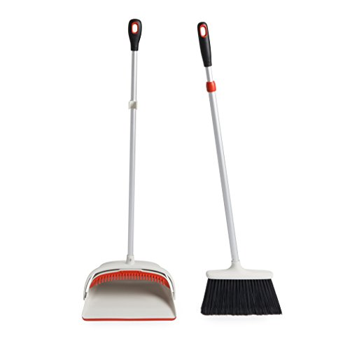 OXO Good Grips Sweep Set with Extendable Broom (Indoor Broom)