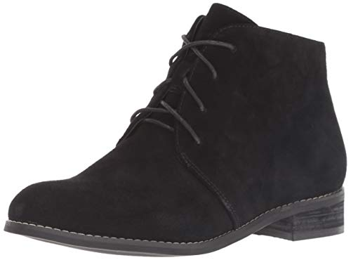 Blondo Women's Rayann Ankle Boot, Black Suede, 10 M US