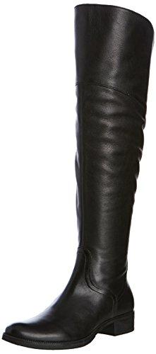 Geox Donna Meldi Stivali, Botas de Montar para Mujer Negro (Black C9999)