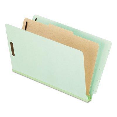 Pendaflex® Extra-Hvy Pressboard Classification Folders, Legal, 4-Section, 10 per Box by Pendaflex