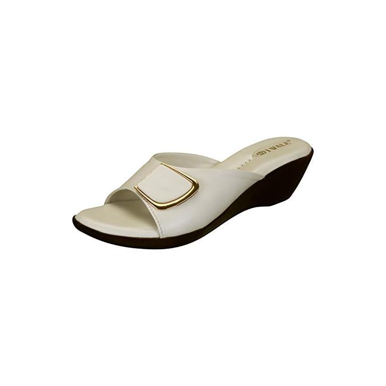 31rbaOGsrRL. SS768  - 1 WALK Comfortable Women-Flats/Fashion Slippers/Casual Footwear/Party slippers/MP-E101(A,B,C,D,E,)-$P