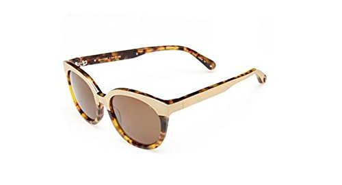 Rebecca Minkoff Baxter Two-Tone Oversized Sunglasses 54mm Blonde ()