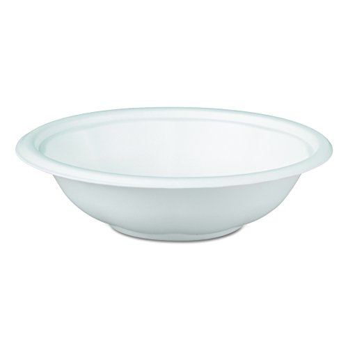 Genpak FW032 32-Ounce Capacity White Color Laminated Foam Utility Bowl 100-Pack (Case of ()