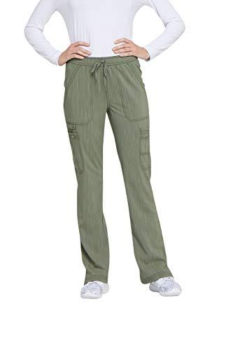 Women's Advance Two-Tone Twist Mid Rise Bootcut Drawstring Scrub Pants ()