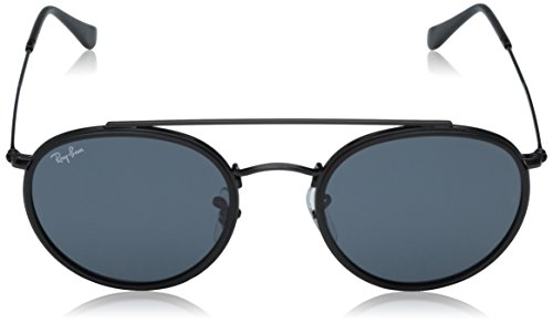 Ray-Ban Metal Unisex Round Sunglasses, Black, 51.1 mm by Ray-Ban (Image #2)