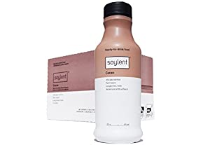 Soylent Meal Replacement Drink, Cacao, 14 fl oz (Pack of 12)