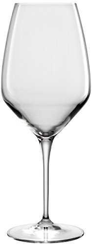 Luigi Bormioli Atelier Cabernet/Merlot Wine Glass, 23-3/4-Ounce, Set of 6