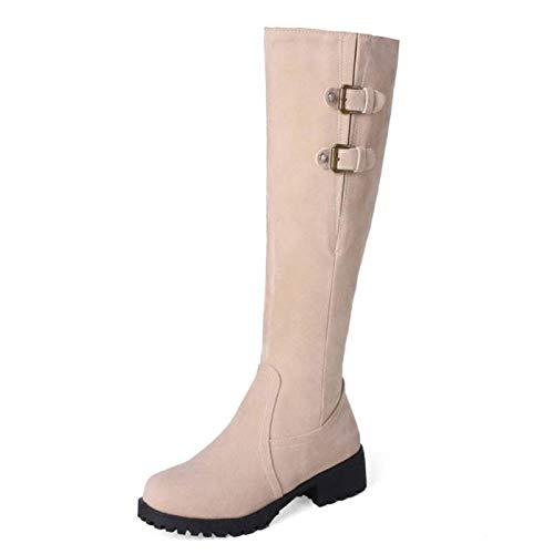 sale retailer 02f8d bc870 HAOLIEQUAN Größe Große 33-44 Schuhe Frauen Knie Schneeschuhe ...