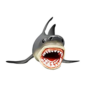 Wotryit Megalodon Prehistoric Shark Ocean Education Animal Figure Model Kids Toy Gift