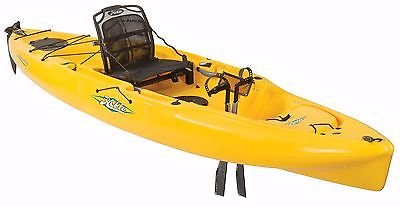 Hobie Mirage 180 Outback Kayak Golden Papaya