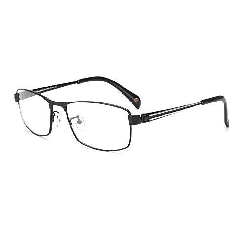 Optical Frames Eyeglasses - Eileen&Elisa Non Prescription Glasses Frame with Titanium Optical Eyeglasses for Men/Women