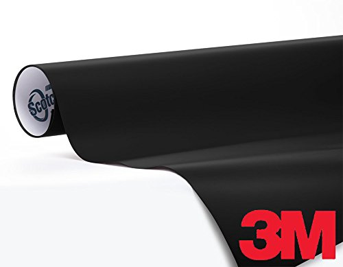 3M 1080 Satin Black Air Release Vinyl Wrap Roll Including Toolkit 3ft x 5ft