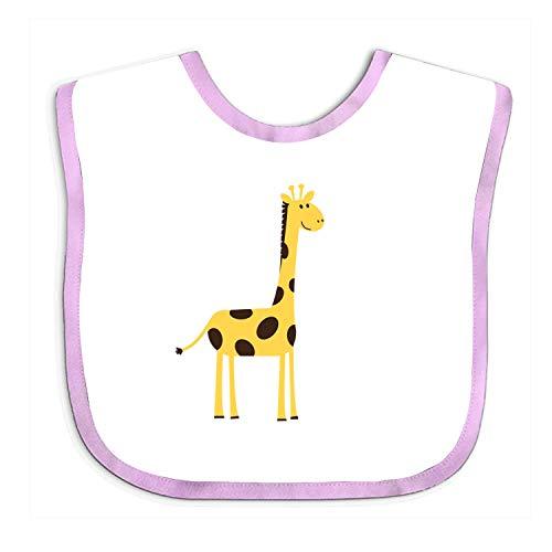 Yellow Giraffe Soft Towel Cotton Bibs Toddler Neck Saliva Babysuits For Baby