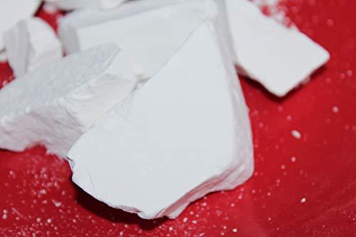 MONASTIC edible Chalk chunks (lump) natural for eating (food), 4 oz (113 g)