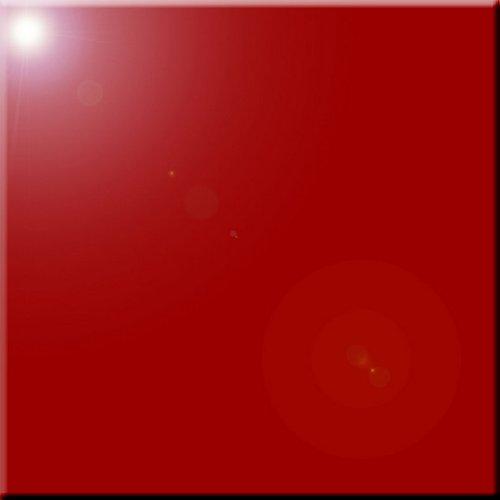 - Rikki Knight Ruby Red Color Design Ceramic Art Tile, 12
