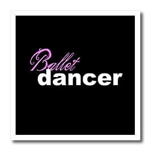 ht_16970_2 Mark Andrews ZeGear Dance - Ballet Dancer - Iron on Heat Transfers - 6x6 Iron on Heat Transfer for White Material
