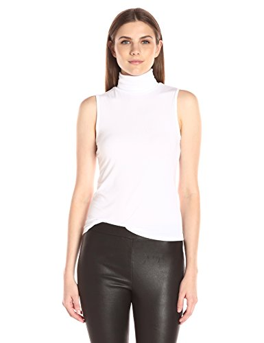 Theory Women's Wendel Ribbed Shirt, White, Small