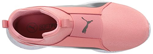 puma Silver Sneaker Women's Aged Mid WNS Shell Speckles PUMA Pink Rebel w8SvZqqnf