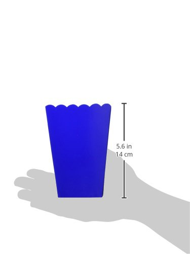 Party Accessory 120 Ct. amscan Popcorn Boxes Small Bright Royal Blue