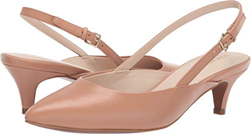 Cole Haan Women's Harlow Slingback Pump Camel Leather 7.5 B US