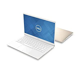 "New Dell XPS13, XPS9380-7885GLD-PUS, Intel Core i7-8565 (8MB Cache, up to 4.6GHz), 8GB 2133Hz RAM, 13.3"" 4K Ultra HD (3840x2160) InfinityEdge Touch Display, 256GB SSD, Fingerprint Reader, Gold"