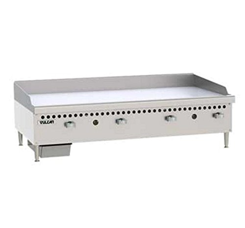 "Vulcan VCRG48-M Griddle gas countertop 48"" W cooking plate 100,000 BTU"