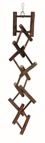 Trixie Natural Living Hanging Ladder, 12 Rungs/58cm by Trixie