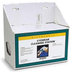 Allegro 0355-01 Small Disposable Cleaning Station, (Pack of 5) (0355-01)