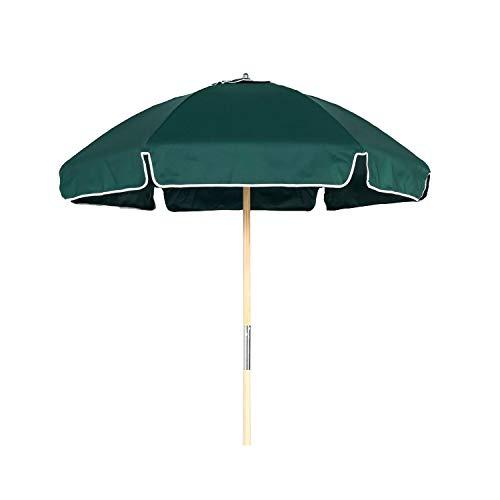 6.5' Shade Star Beach Umbrella Color Forest Green