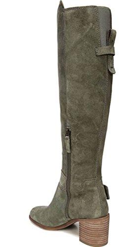 Franco Sarto Da Donna Mystic Knee Alto Boot Pastorale Verde Camoscio