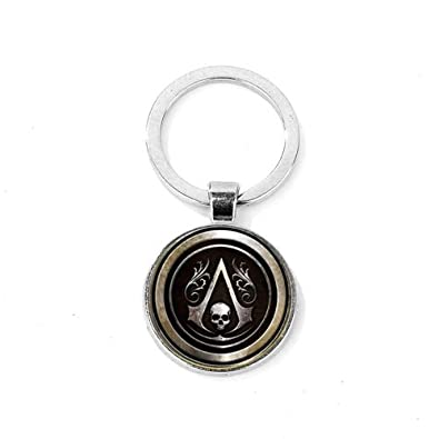 Amazon.com: Assassins Creed Ezio Keychain Creed Badge Time ...