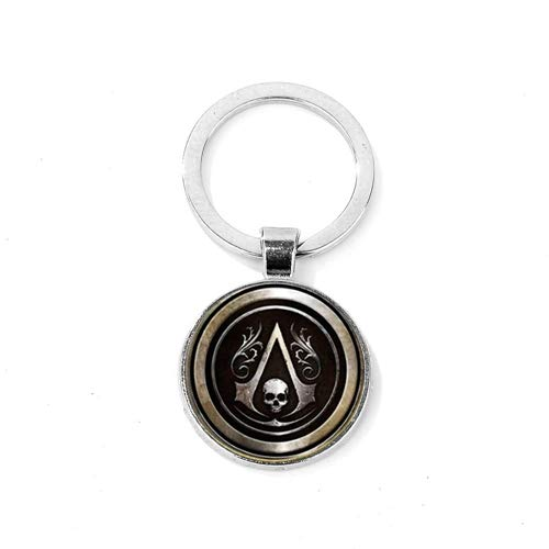 Assassins Creed Ezio Keychain Creed Insignia Gema Aleación ...