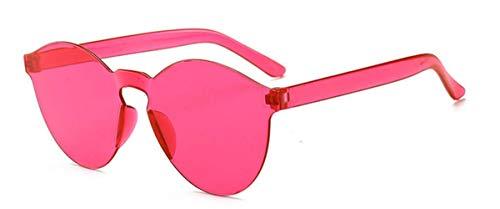 Ligero Sol UV400 Gafas Fliegend Marco Retro Polarizadas de Hombre Sol de Gafas C4 Lente Súper Espejo Gafas Vintage Sin Mujer Unisex Transparentes BqRB6