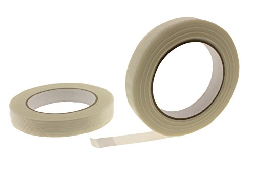Reinforced Strapping Tape - 2pk 3/4