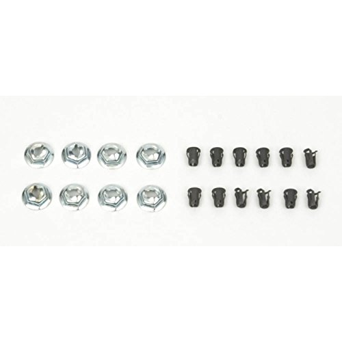 (Eckler's Premier Quality Products 33-181834 Camaro Emblem Fastener Set, For Cars With Standard Trim (Non Rally Sport) & Rally Sport (RS),)