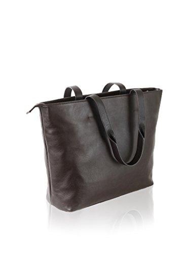 Nava Design Borsa A Spalla N_Leather Fango