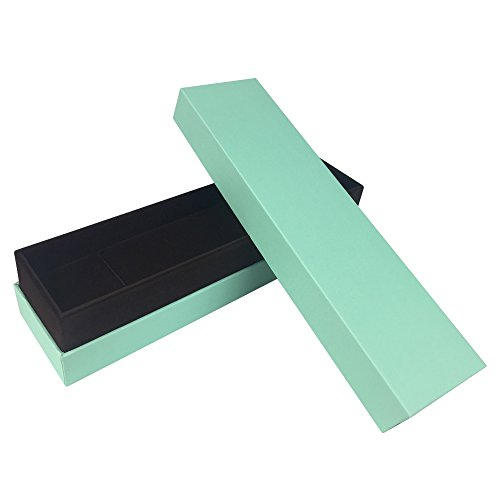 ShiGuDongLai Fine grass green jewelry packaging display storage Gift box Korean style (High Fashion Necklace Gift Box)