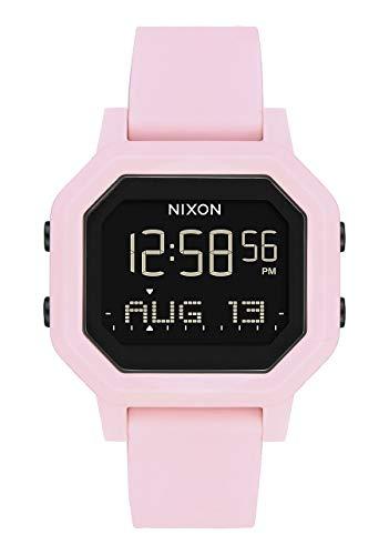 Nixon Women's Siren Digital Watch Pale Pink 38mm