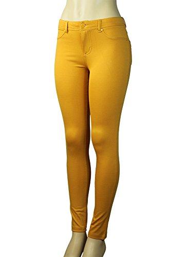 yellow skinny pants - 5