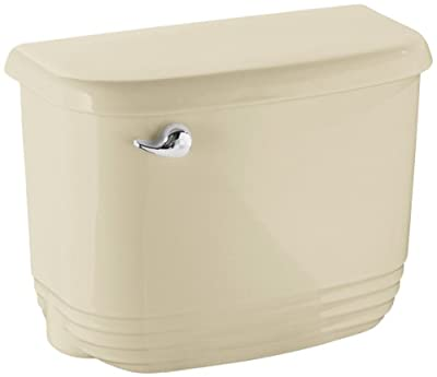 STERLING 404522-47 Riverton Tank with Chrome Trip Lever, Almond