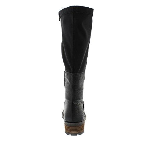 Rieker Y0481-00, Botines para Mujer Negro (Schwarz/schwarz)