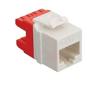 amazon com icc module, cat 6, hd, white office productsicc data module  wiring