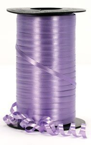 Lavender Curling Ribbon - Lilac Balloon Ribbon - 500 Yards -