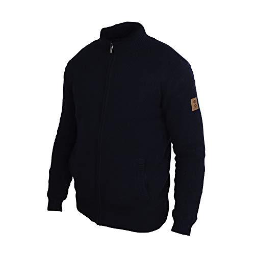 Homme Laine Polaire Conçue Veste En Tefaneso Pull Hiver Suisse Blue Maille Et Dessinée Cardigan Marine X5qwBF