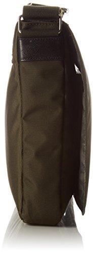 Timberland Tb0m5473, Bolso de Mensajero para Hombre, 5x27x40 cm (W x H x L) Verde (Forest Night)