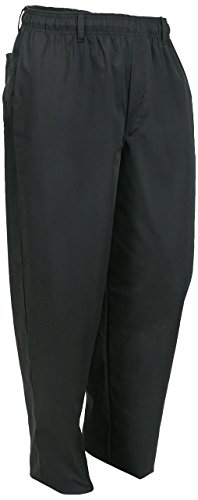 Mercer Culinary M60050BK6X Millennia Men's Cook's Pants, 6X-Large, Black by Mercer Culinary